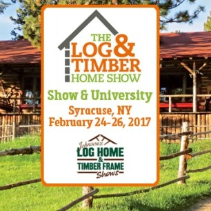 Log & Timber Frame Show Syracuse