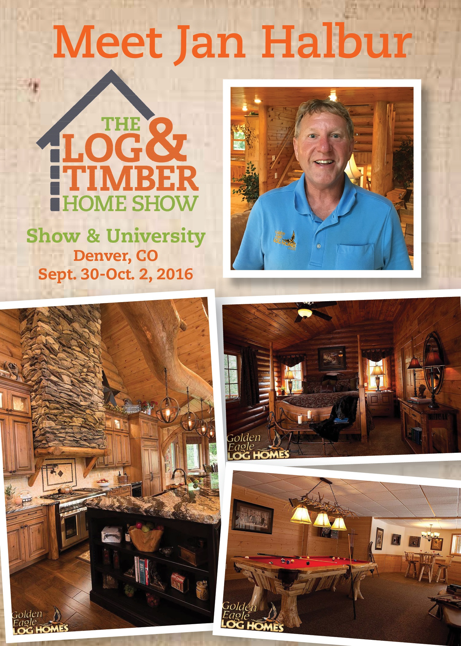 Free Workshops at CO 2016 Log & Timber Home Show September 30 October 2 2016