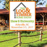Asheville, NC | Log & Timber Home Show | November 3-5, 2017 | WNC Ag Center | Timber Framing | Log Home Builders