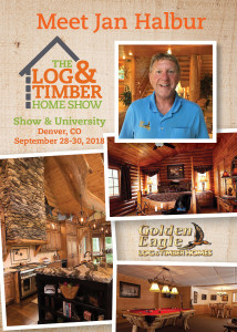 Denver, CO | Workshop Spotlight | Golden Eagle Log & Timber Homes | Log & Timber Home Show | September 28-30, 2018