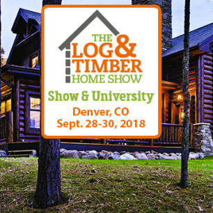 Denver, CO 2018 | Log & Timber Home Show | September 28-30, 2018 | Log Home University