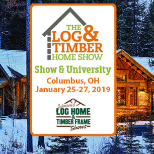 Columbus, OH | Log & Timber Home Show | Log Homes | Timber Frame Homes | Meet Builders | Attend Workshops