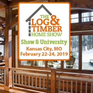 Kansas City, MO | February 22-24, 2019 | Log & Timber Home Show | Builders | Manufacturers | Floor Plans