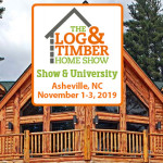 Asheville, NC | Log & Timber Home Show | November 1-3, 2019 | WNC Ag Center | Log Homes | Timber Frame Home | Hybrid Homes